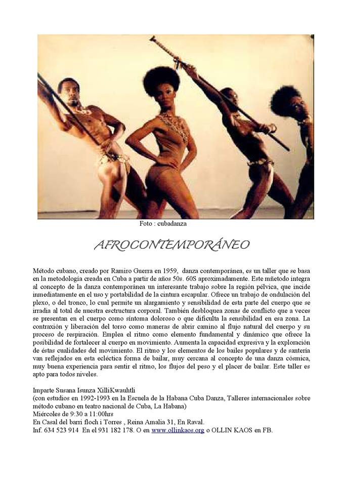 Taller Afrocontemporaneo